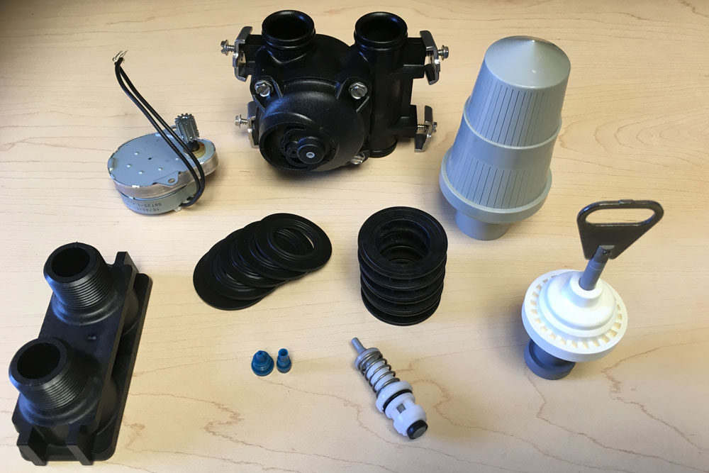 parts for water treatment systems